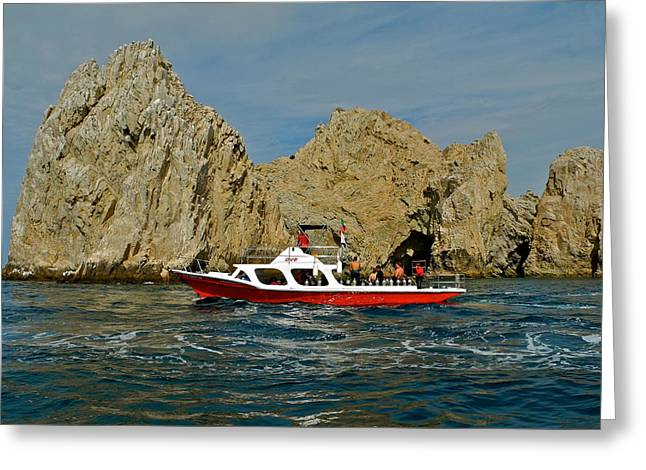 Cabo San Lucas Rock Formations Greeting Card by Kirsten Giving