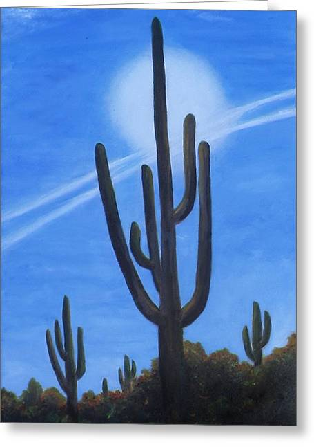 Cactus Halo Greeting Card