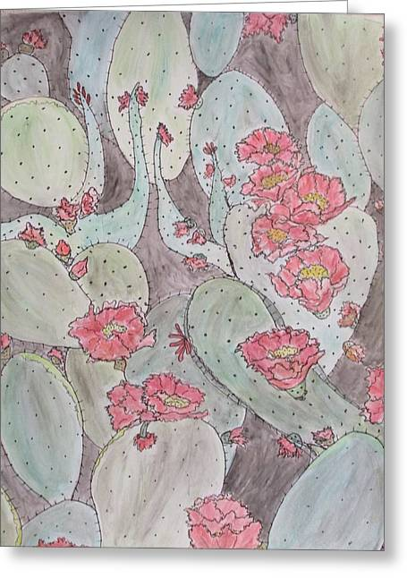 Cactus Voices #2 Greeting Card