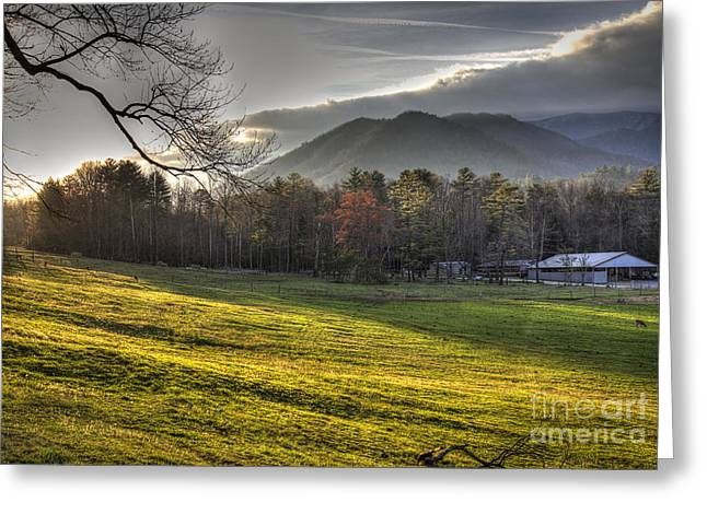 Cades Cove, Spring 2016,ii Greeting Card by Douglas Stucky