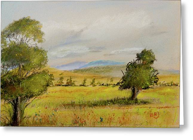 Cade's Cove Vista - Scenic Landscape Greeting Card by Barry Jones