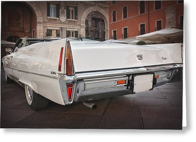 Cadillac Coupe De Ville Greeting Card