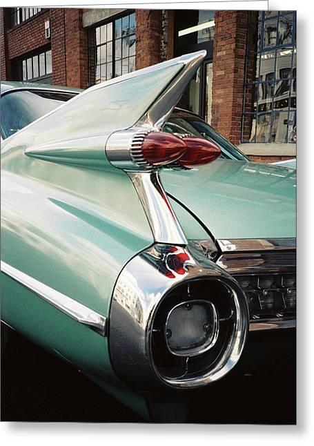 Cadillac Fins Greeting Card
