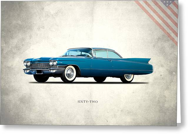 Cadillac Sixty Two Greeting Card