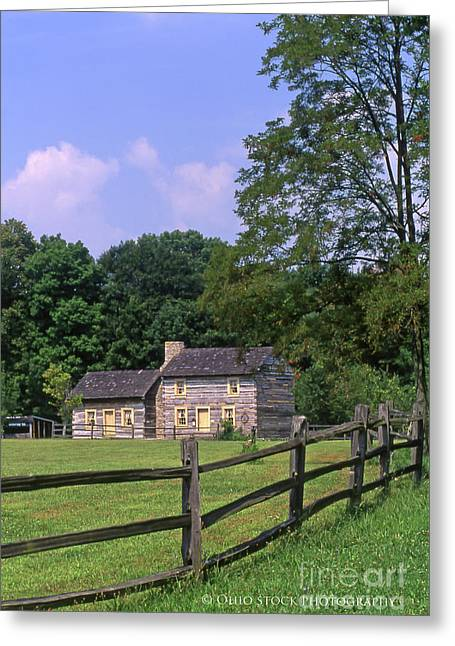 1e140 Caesar Creek Pioneer Village Photo Greeting Card