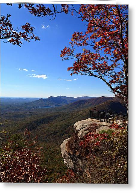 Caesars Head State Park In Upstate South Carolina Greeting Card