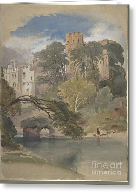 Caesar's Tower, Warwick Castle Greeting Card