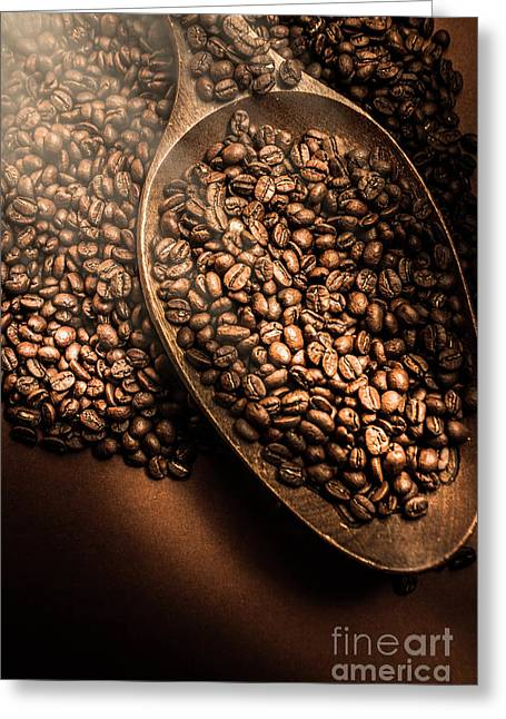 Cafe Aroma Art Greeting Card by Jorgo Photography - Wall Art Gallery