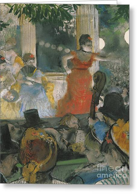Cafe Concert At Les Greeting Card