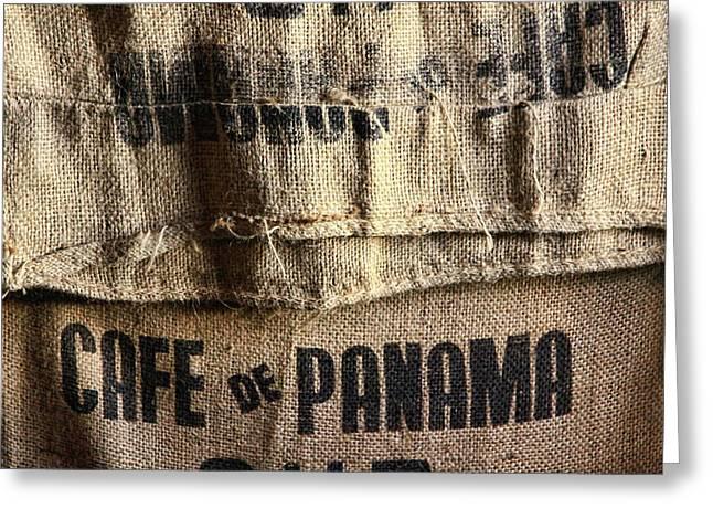 Cafe De Panama Greeting Card