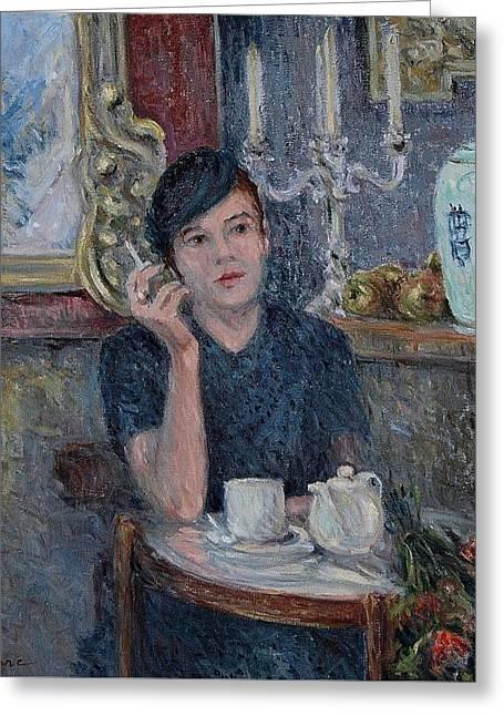 Cafe De Paris  Greeting Card