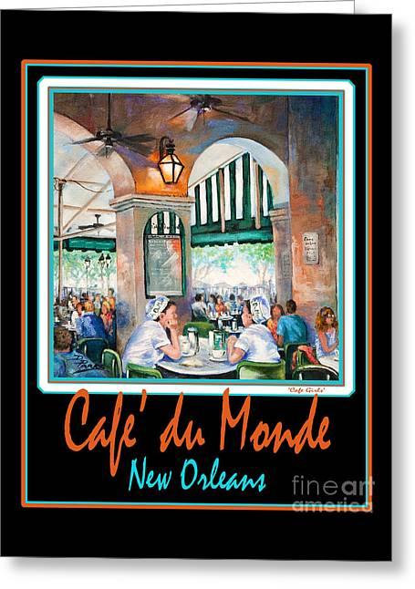 Cafe Du Monde Greeting Card by Dianne Parks