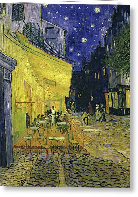 Cafe Terrace, Place Du Forum, Arles Greeting Card