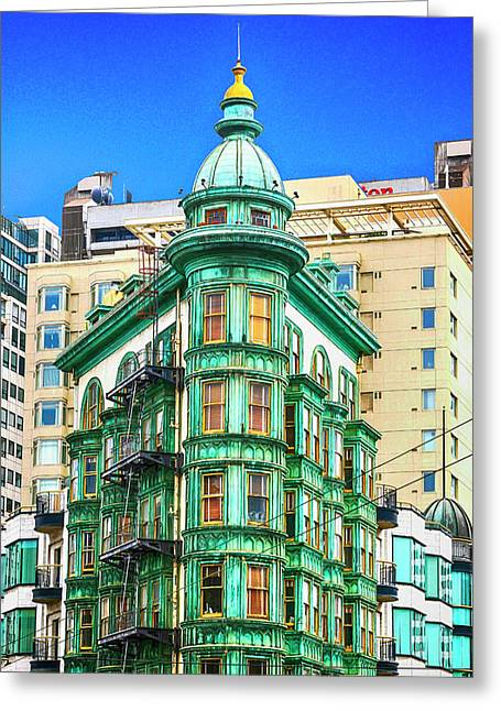 Cafe Zoetrope Greeting Card by Chris Smith