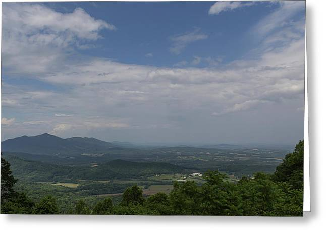 Cahas Mountain View Greeting Card