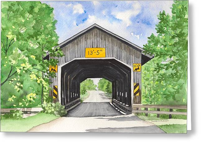 Caine Road Bridge Greeting Card