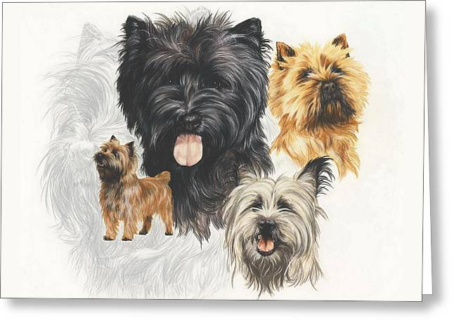 Cairn Terrier Revamp Greeting Card