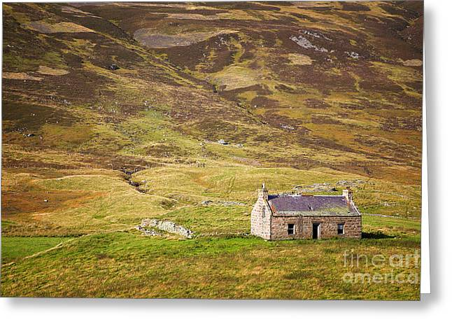 Cairngorms Cottage Greeting Card