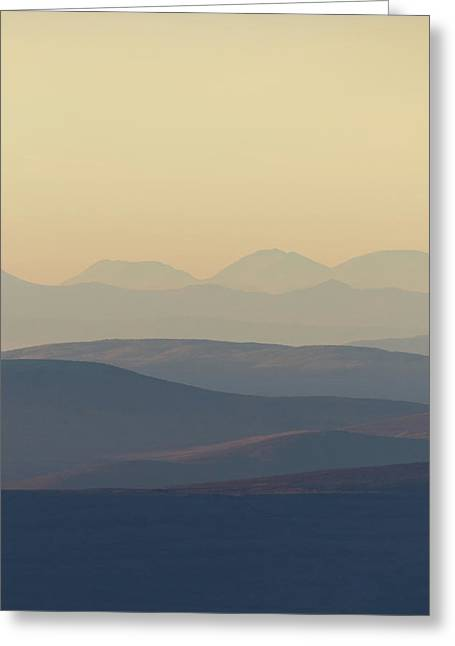 Cairngorms Sunset Greeting Card