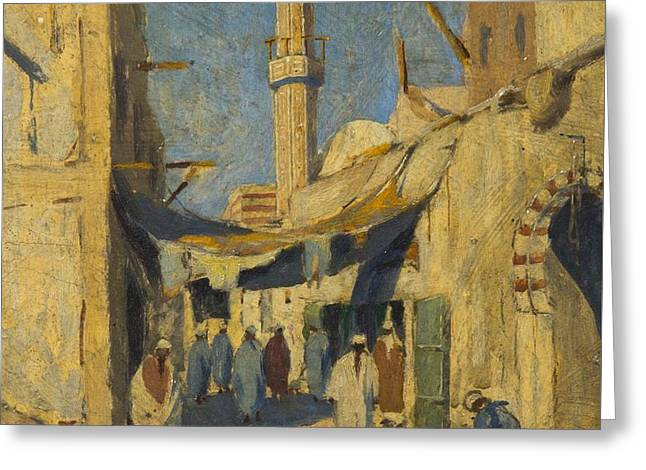 Cairo Greeting Card by Vaclav