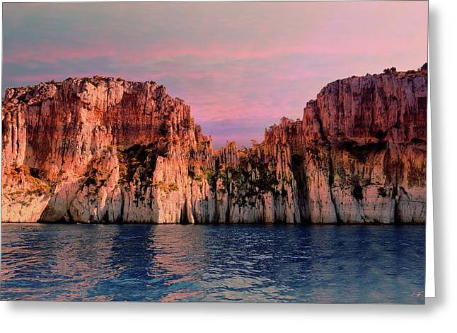 Calanques De Marseille .  Greeting Card