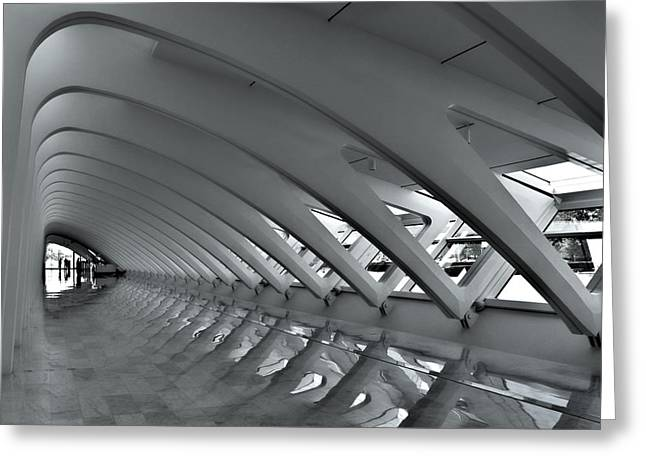 Calatrava 3 Greeting Card