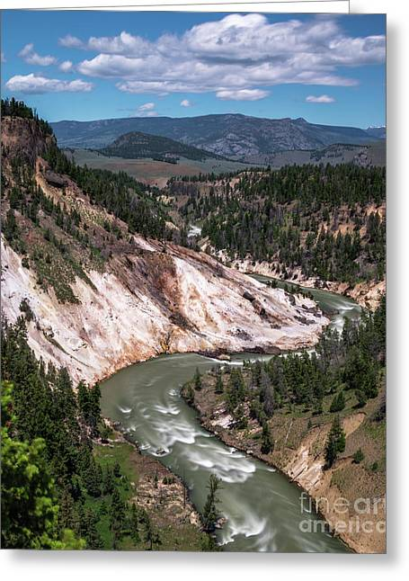 Calcite Springs Overlook  Greeting Card