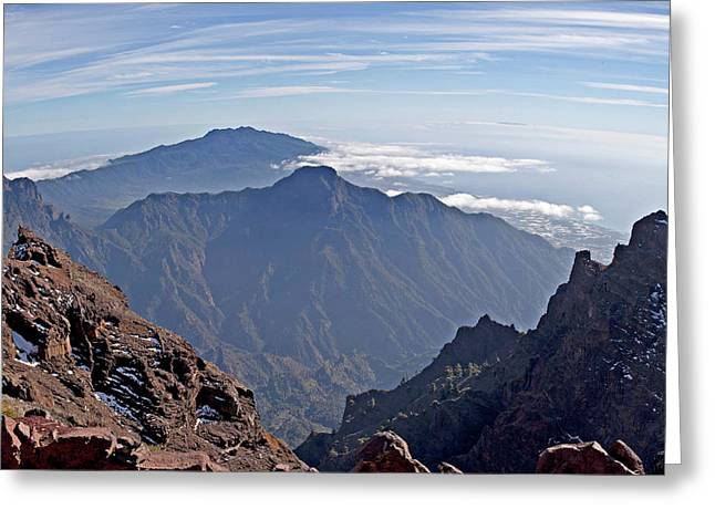 Caldera De Taburiente-1 Greeting Card
