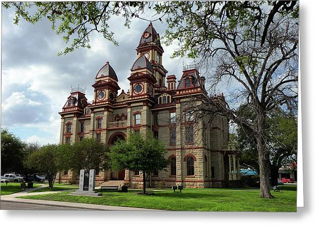 Caldwell County Courthouse Greeting Card