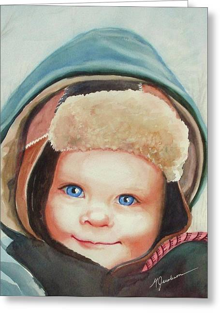 Caleb Greeting Card by Marilyn Jacobson