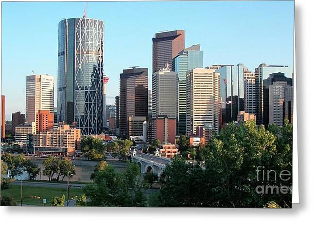 Calgary 2 Greeting Card