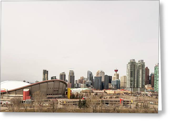 Greeting Card featuring the photograph Calgary, Alberta by Josef Pittner
