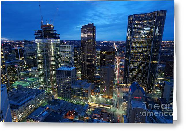 Calgary cityscape greeting cards page 4 of 5 fine art america calgary close up greeting card m4hsunfo