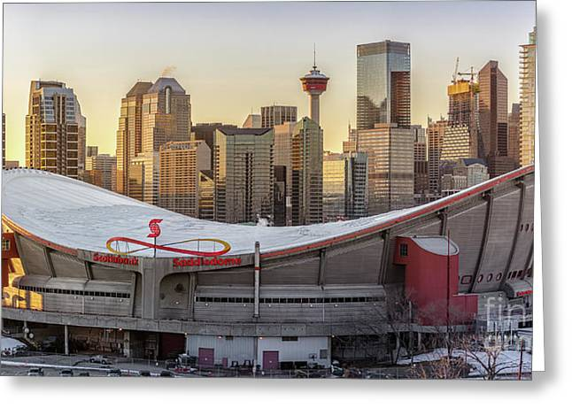 Calgary cityscape greeting cards page 2 of 5 fine art america calgary skyline greeting card m4hsunfo