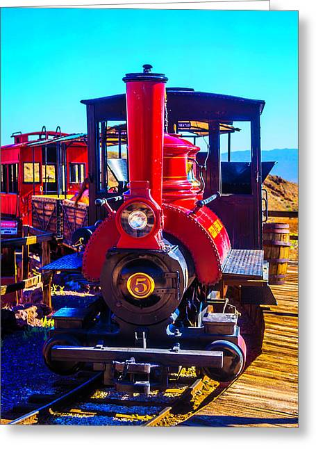 Calico Odessa Rr Greeting Card by Garry Gay