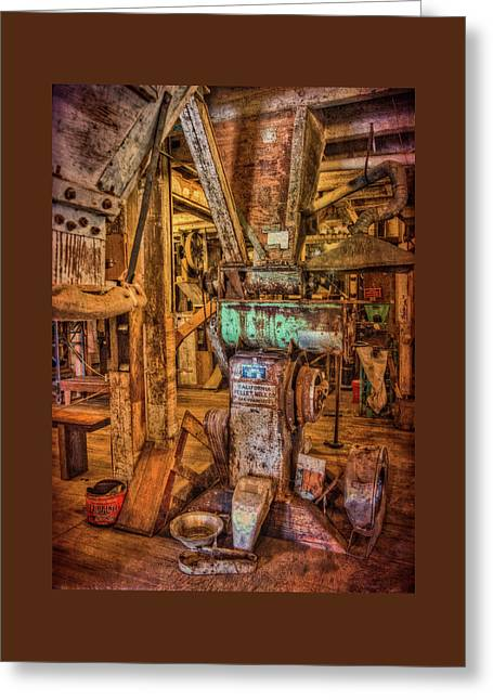 California Pellet Mill Co Greeting Card