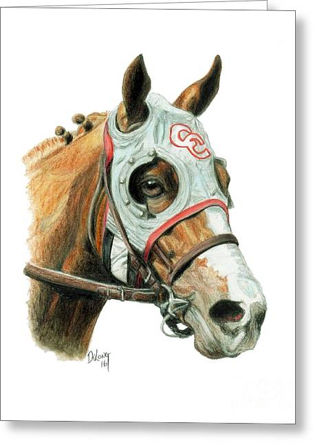 California Chrome  2016 Greeting Card by Pat DeLong