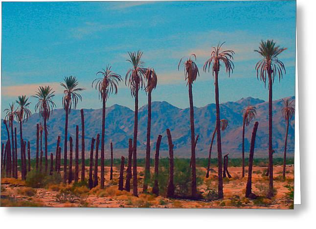 California Dreaming Greeting Card by Robert Morrissey