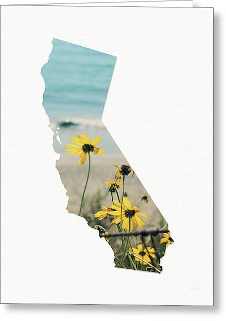California Dreams Art By Linda Woods Greeting Card by Linda Woods