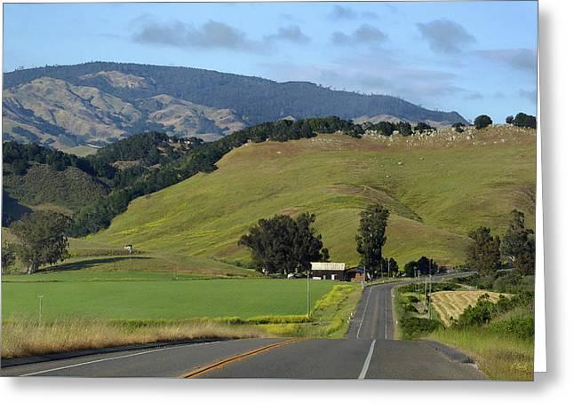 California Hills Greeting Card by Gordon Beck