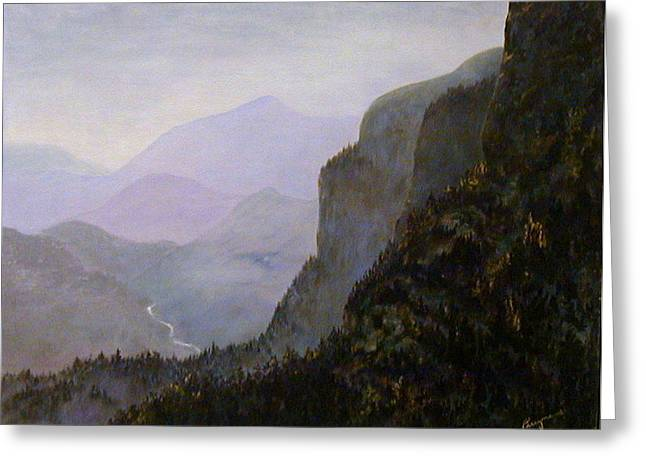 California Mountains Greeting Card by Betty Treadwell
