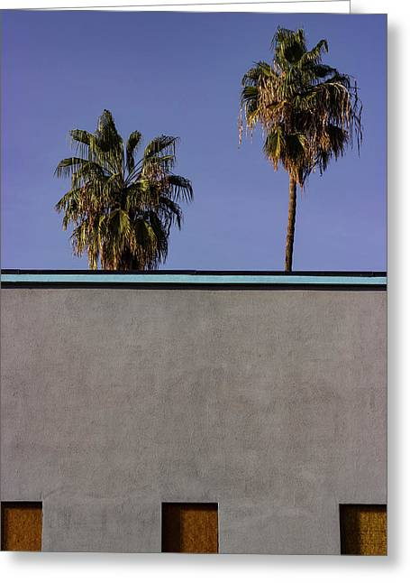 California Rooftop Greeting Card