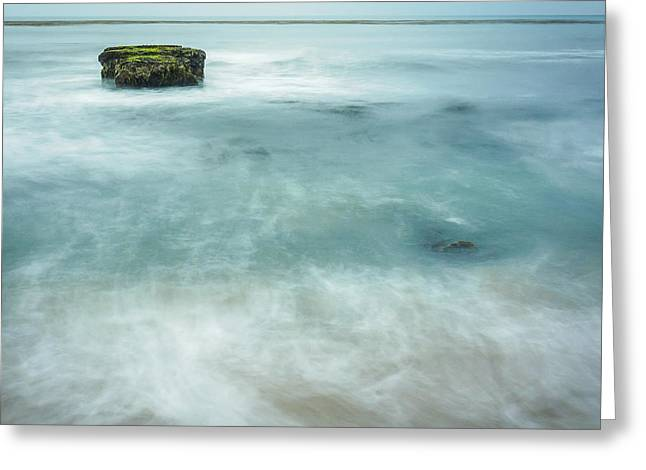 California Seascape Greeting Card