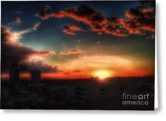 California Sky Greeting Card
