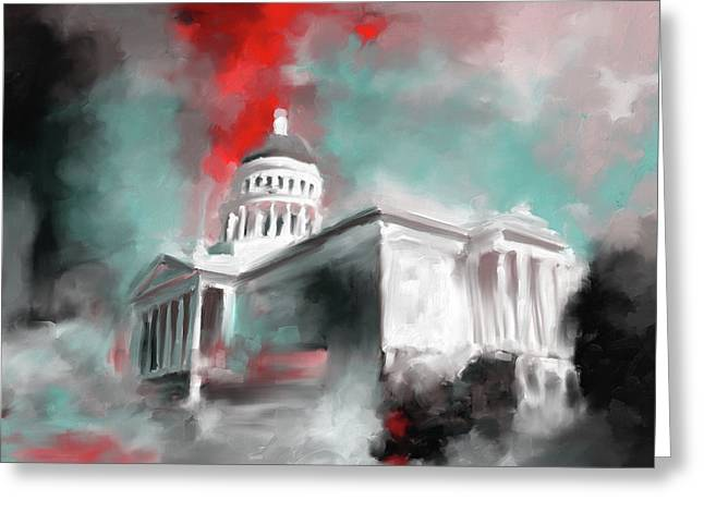 California State Capitol Building 556 2 Greeting Card