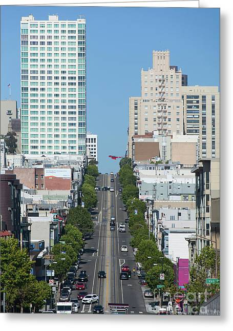 California Street San Francisco California 5d3295 Greeting Card