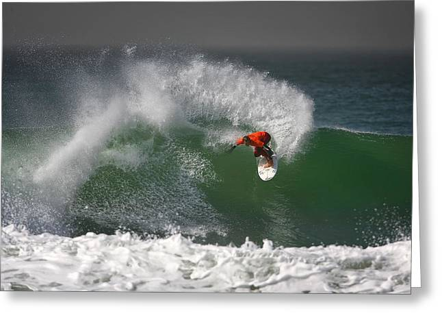 California Surfing 2 Greeting Card by Larry Marshall
