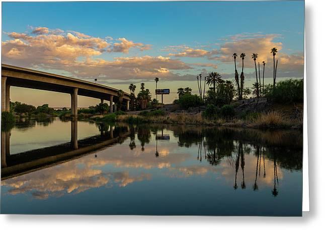California To Arizona Greeting Card