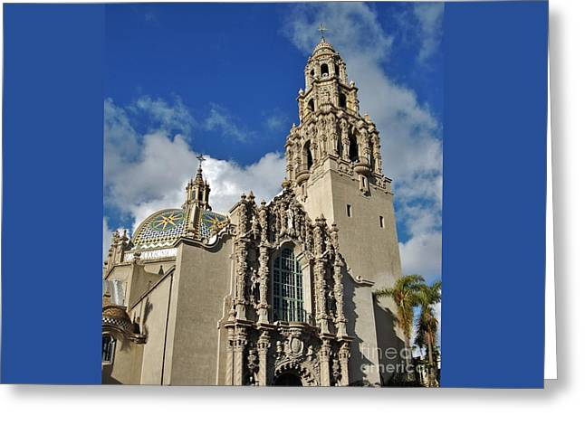California Tower 2010 Greeting Card by Jasna Gopic