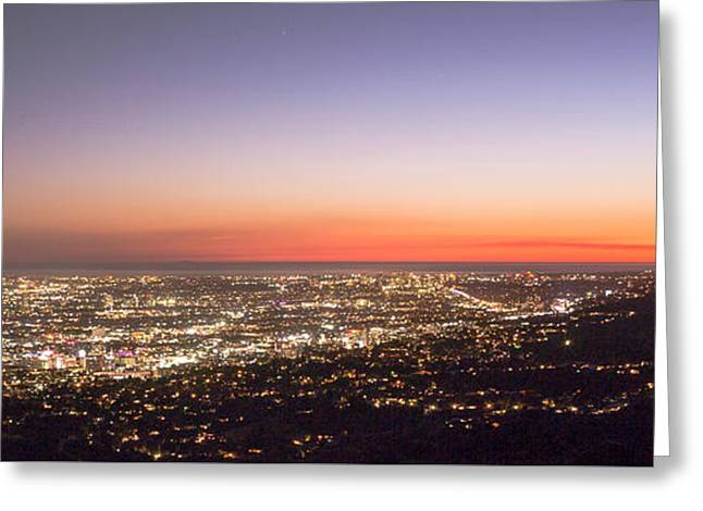 Californian Sunset Greeting Card